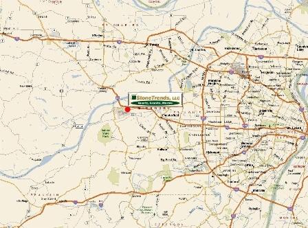 StoneTrends, LLC: map